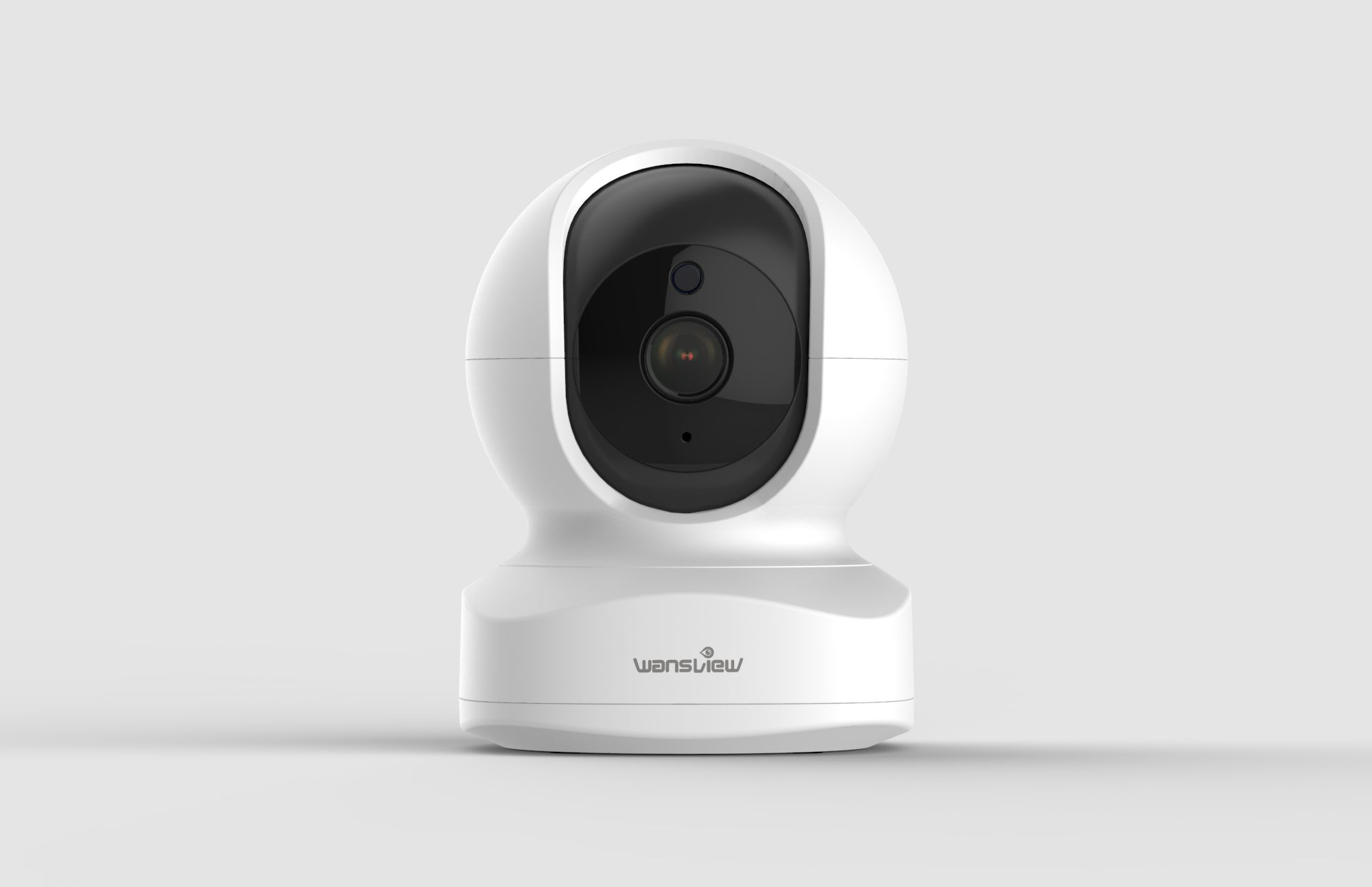 How does a surveillance camera monitor remotely?